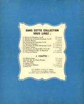 Verso de Bob et Bobette (Collection du Lombard) -3- Le trésor de Beersel