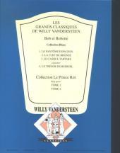 Verso de Bob et Bobette (Collection classique bleue) -3- Le casque tartare
