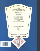 Verso de Bob et Bobette (Collection classique bleue) -4- Le Trésor de Beersel