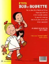 Verso de Bob et Bobette (P'tits) -1- Joyeux diablotins