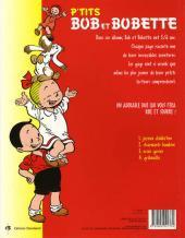 Verso de Bob et Bobette (P'tits) -4- Gribouillis