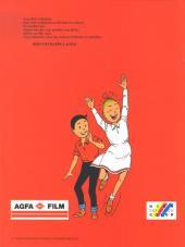 Verso de Bob et Bobette (Publicitaire) -Ag2- Le Chamois blanc