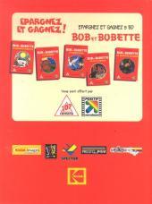 Verso de Bob et Bobette (Publicitaire) -Ca1- Les marrantes marmottes