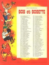 Verso de Bob et Bobette (Publicitaire) -Ph6- Les Pains de pierre
