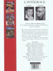 Verso de Bob Morane 8 (Intégrale Dargaud-Lombard) -15- Tibet et Ombre Jaune