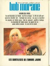 Verso de Bob Morane 3 (Lombard) -23- Les sortilèges de l'Ombre jaune
