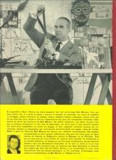 Verso de Bob Morane 1 (Marabout) -1- L'oiseau de feu