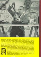 Verso de Bob Morane 1 (Marabout) -3- Les tours de cristal