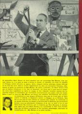 Verso de Bob Morane 1 (Marabout) -4- Le collier de Çiva