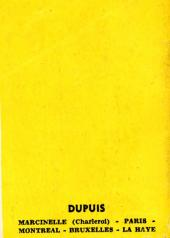 Verso de Bobo -MR1204- Bobo s'évade