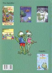 Verso de Boogy & Rana -3- Le Secret des Ouaouarons