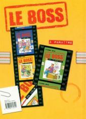 Verso de Le boss -2- On vous écrira !