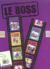 Verso de Le boss -7- Délocalisons !