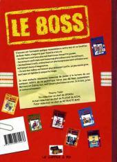 Verso de Le boss -8- Les dérapages du boss