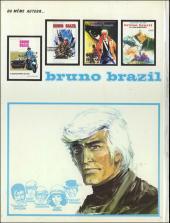 Verso de Bruno Brazil -4a1973- La cité pétrifiée