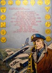 Verso de Buck Danny -14- Patrouille à l'aube