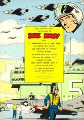 Verso de Buck Danny -20- S.O.S. soucoupes volantes !