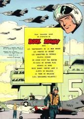 Verso de Buck Danny -21- Un prototype a disparu