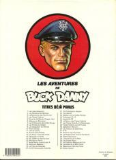 Verso de Buck Danny -41- Mission 'Apocalypse'