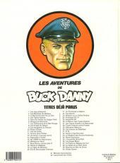 Verso de Buck Danny -42- Les pilotes de l'enfer