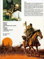 Verso de Buddy Longway -9'- Premières chasses