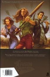 Verso de Buffy contre les vampires - Saison 08 -1- Un long retour au bercail