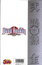 Verso de Busô Renkin, arme alchimique -1- Une nouvelle vie