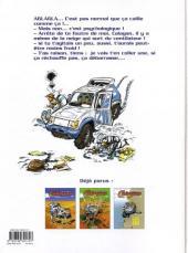 Verso de Rallye Raid Calagan -3- Rallye Raid Calagan Tome 3