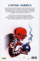 Verso de Captain America (Marvel Graphic Novels) - Rouge, blanc & bleu