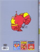 Verso de Captain Biceps -4- L'inoxydable