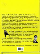 Verso de Carton jaune ! - Tome 1