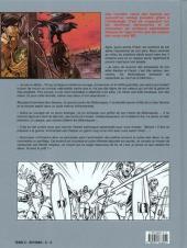 Verso de Le casque d'Agris -1- Le sanctuaire interdit