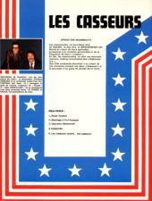 Verso de Les casseurs - Al & Brock -3- Opération Mammouth
