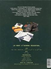 Verso de Ce qui est à nous -2- La mort d'Herman Rosenthal