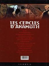 Verso de Les cercles d'Akamoth -1- Les sans-âme