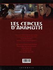 Verso de Les cercles d'Akamoth -2- La nouvelle alliance