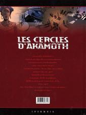 Verso de Les cercles d'Akamoth -3- L'enfant vaudou