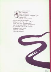 Verso de Le cercueil de course - Tome a1997