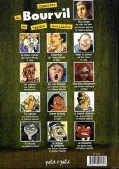 Verso de Chansons en Bandes Dessinées  - Chansons de Bourvil en bandes dessinées