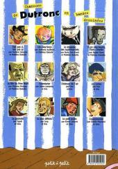 Verso de Chansons en Bandes Dessinées  - Chansons de Dutronc en bandes dessinées