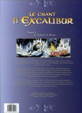 Verso de Le chant d'Excalibur -3- La Griffe de Rome