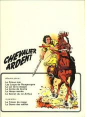 Verso de Chevalier Ardent -6- Le secret du roi Arthus