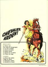Verso de Chevalier Ardent -7- Le trésor du mage