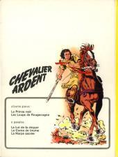 Verso de Chevalier Ardent -1- Le Prince Noir
