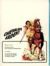 Verso de Chevalier Ardent -2- Les Loups de Rougecogne