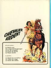 Verso de Chevalier Ardent -5- La harpe sacrée
