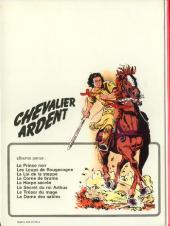 Verso de Chevalier Ardent -8- La Dame des sables