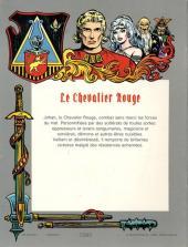 Verso de Le chevalier Rouge -1- Les survivants