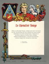 Verso de Le chevalier Rouge -2- La légion perdue