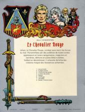 Verso de Le chevalier Rouge -6- Les Ningas!